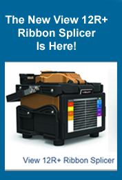 View 12R Ribbon splicer at FiberOptic Resale Corp