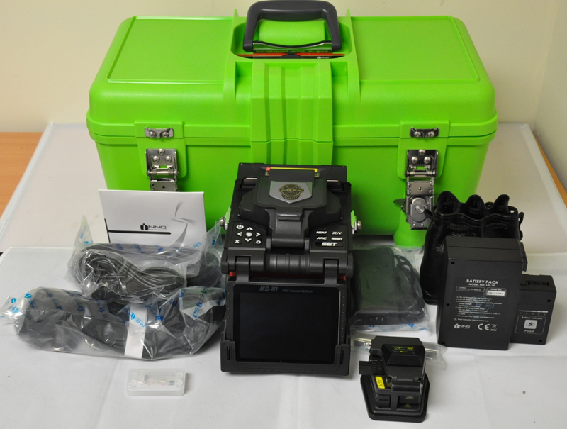 INNO IFS-10 fusion splicer at FiberOptic Resale
