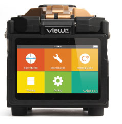 View 7 fusion splicer rentals at FiberOptic Resale Corp