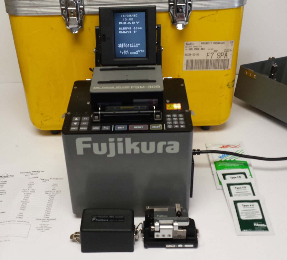 Refurbished Fusion Splicer | FiberOptic Resale