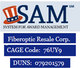 Duns and Cage number FiberOptic Resale Corp