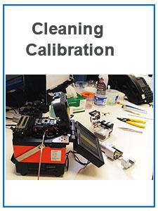 fusion splicer calibration
