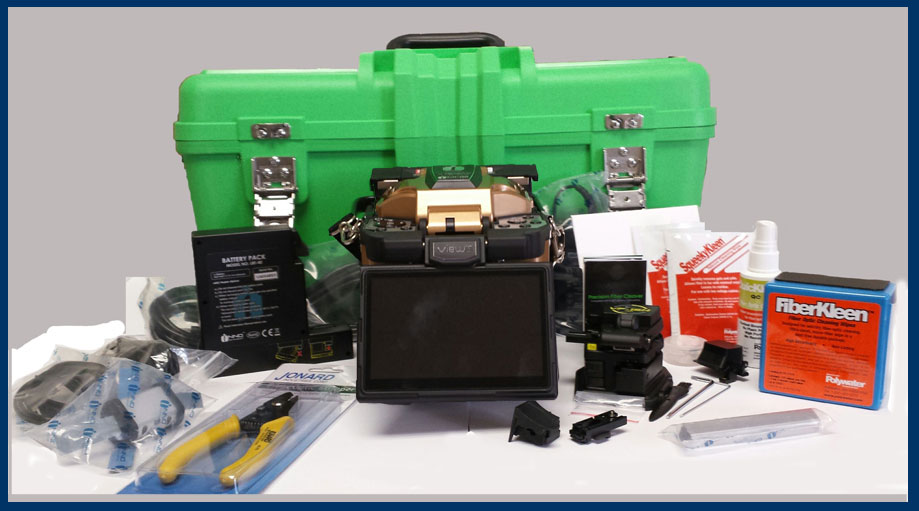 View 5 Fusion Splicer Kit with cleaners