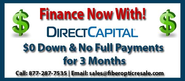 Fiber Optic Equipment Special Financing