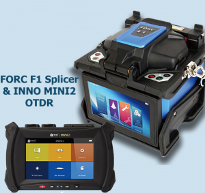 FORC F1 Clad Alignment splicer & MINI2 OTDR