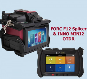 FORC F12R Ribbon splicer & MINI2 OTDR