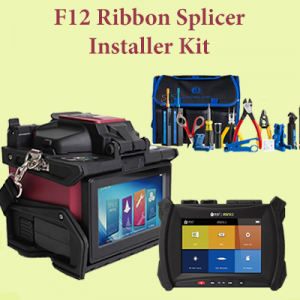 FORC F12R Splicer MINI2 OTDR Jonard TK-160 Kit square