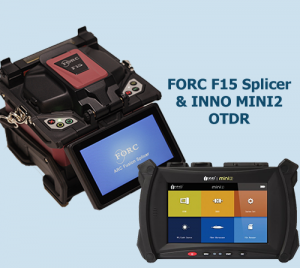 FORC F15 Core Alignment splicer & MINI2 OTDR