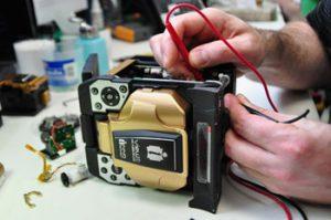 Lab Fusion Splicer Repair