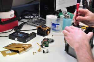 Lab INNO Fusion Splicer Repair w Cleaver