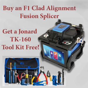 FORC F1 Clad Alignment Splicer & Jonard TK-160