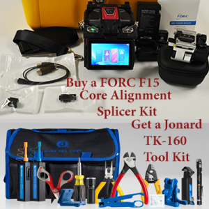 FORC F15 Core Alignment Splicer & Jonard TK-160