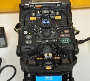 Fujikura FSM-60R Fusion Splicer Top View