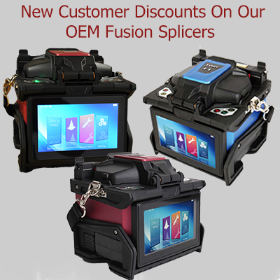 FORC Fusion Splicers New Customer Discounts