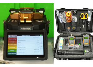 View 12R Fusion Splicer with FREE FOR650 Cleaning Test Kit