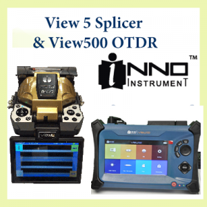 View 5 splicer & View500 OTDR Kit