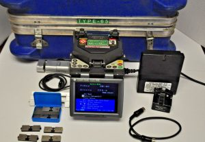 Sumitomo Type 65 Mass Ribbon Splicer with Fiber Holders