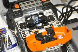 Sumitomo Quantum Type-Q101-CA Plus Fusion Splicer Top Open Demo Unit
