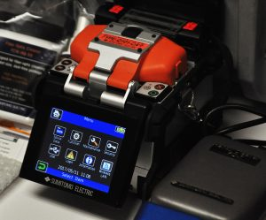 Sumitomo Quantum Type-Q101-CA Plus Fusion Splicer Screen Demo Unit