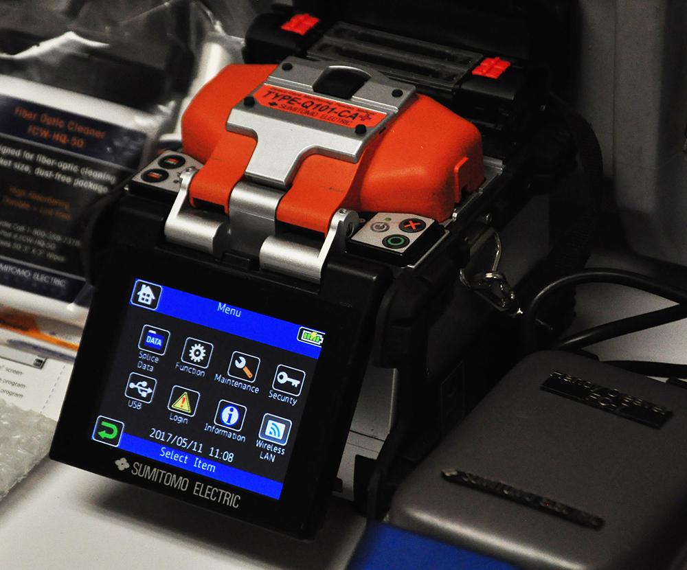 Sumitomo Quantum Type-Q101-CA Plus Fusion Splicer Screen Demo Unit