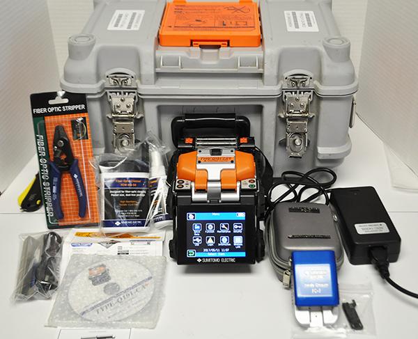 Sumitomo Quantum Type-Q101-CA Plus Fusion Splicer Kit Demo Unit 2