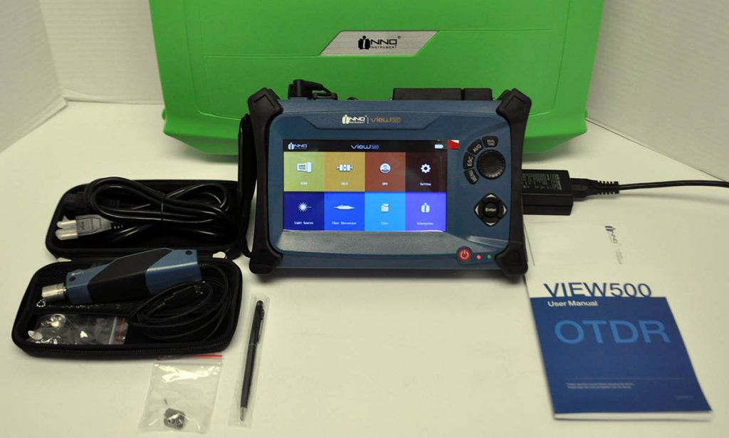 INNO View500 OTDR Kit w/V20 Microscope