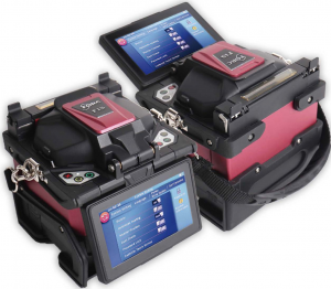 FORC F15 Fusion Splicer double screen view