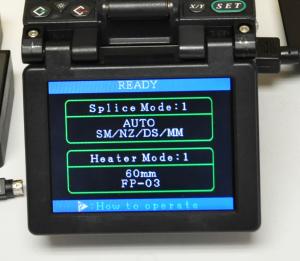 Fujikura FSM-50S Fusion Splicer Screen sn10733