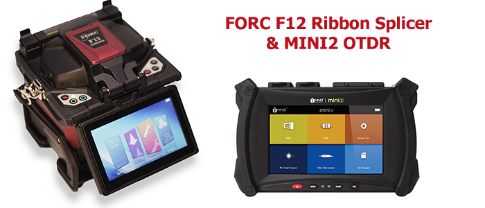 FORC F12 Splicer & INNO MINI2 OTDR