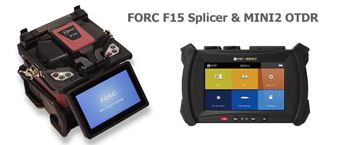 FORC F15 Splicer & INNO MINI2 OTDR