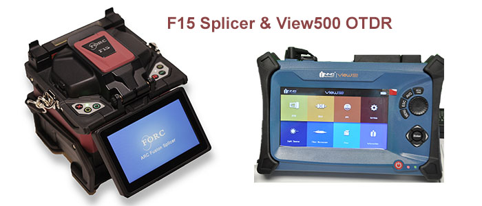 FORC F15 Splicer & INNO View500 OTDR
