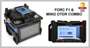 FORC F1 Fusion Splicer & MINI2 OTDR