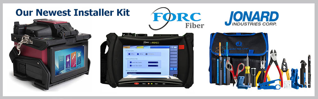 FORC F12 Splicer FORC MINI2 OTDR Jonard TK-160