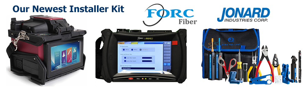 FORC F12 Splicer - FORC MINI2 OTDR - Jonard TK160 Tool Kit