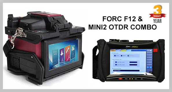FORC F12 Fusion Splicer & MINI2 OTDR