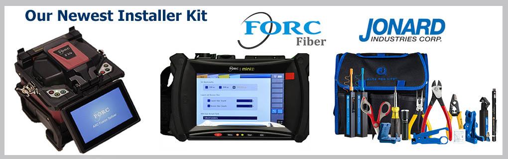 FORC F15 Splicer FORC MINI2 OTDR Jonard TK-160