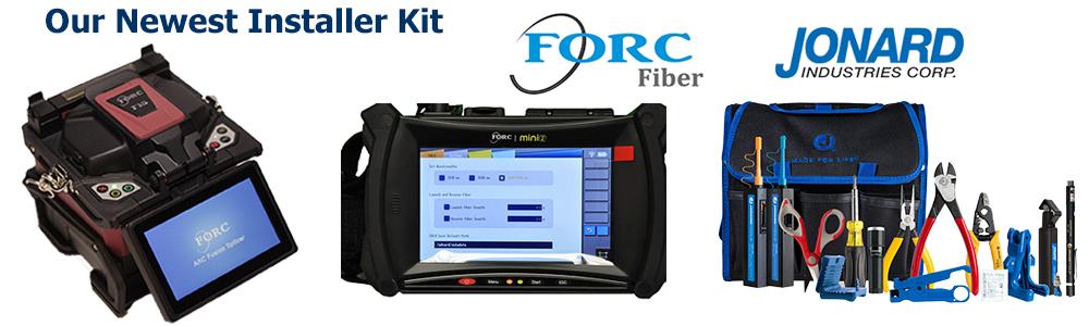 FORC F15 Splicer - FORC MINI2 OTDR - Jonard TK160 Tool Kit