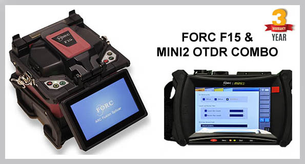 FORC F15 Fusion Splicer & MINI2 OTDR