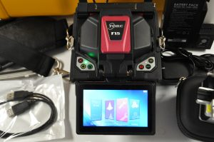 FORC F15 Core Alignment Splicer Screen on