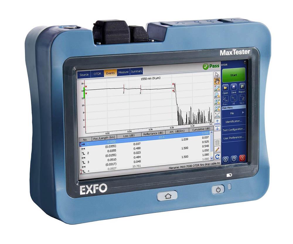 EXFO MaxTester Max 700 OTDR