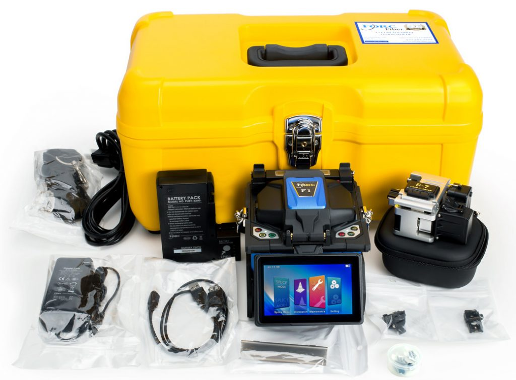 F1 Clad Alignment Fusion Splicer Full Kit