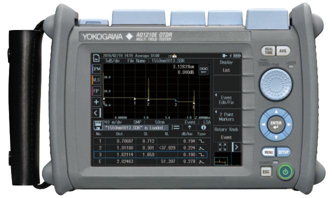Yokogawa AQ1210-Series OTDR