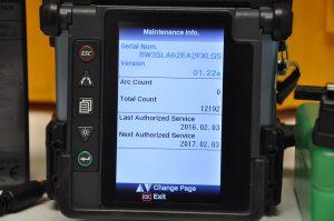Fujikura FSM-70S Screen ARCS