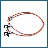 Fiber Optic Splicer Workstation Ariel Strand Attachment Cables