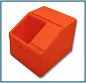 """P"" Seat w/o Tool Base - Orange"