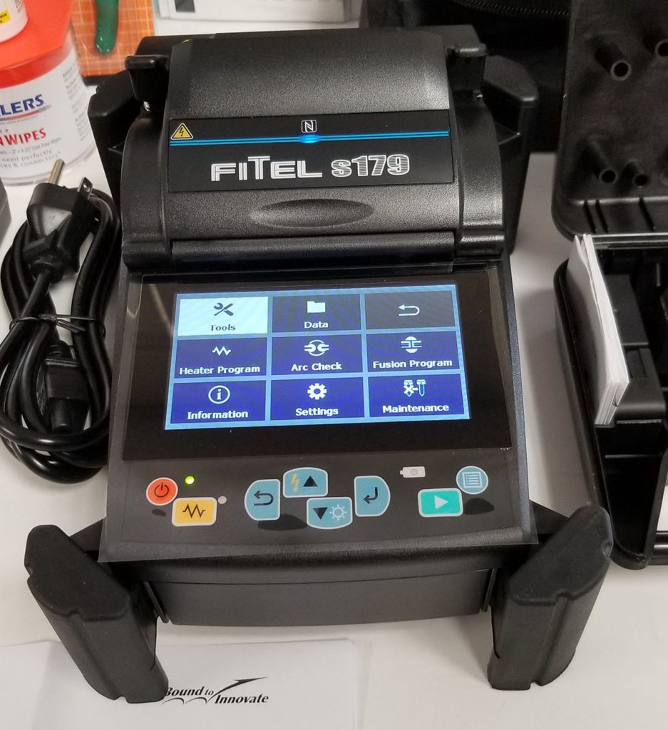 OFS Fitel S179A EX-900 Screen