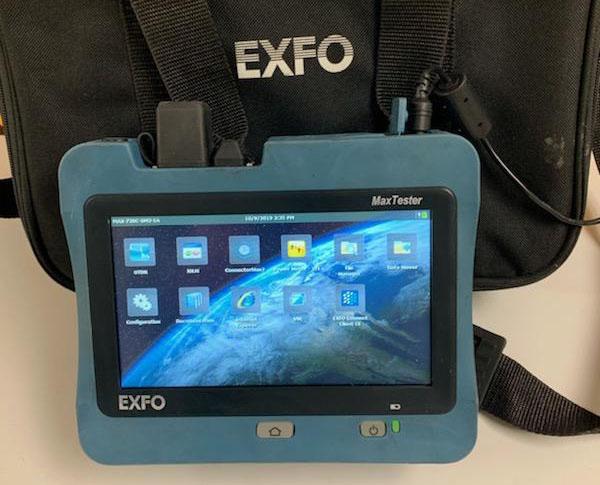 EXFO FTB-1-720C-Q!-EA-E1 Screen