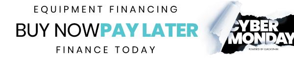 QuickSpark Cyber Monday Financing Horizontal