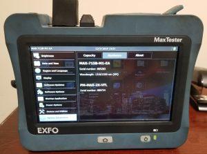 EXFO MAX-715 OTDR