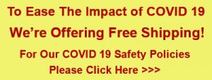 Covid 19 Free Shipping Banner